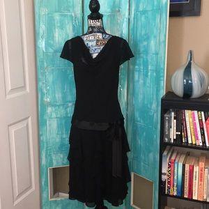 Liz Claiborne   women's black dress